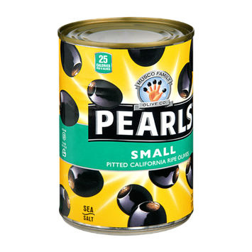 Musco Family Olive Co. Pearls Small Pitted California Ripe Olives