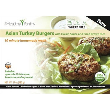 Cooksimple Asian Burgers with Stir Fried Brown Rice, 7.4-Ounce