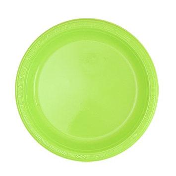 Hanna K Signature Hanna K. Signature 80570 7 in. Lime Green Plastic Plate - 600 Per Case