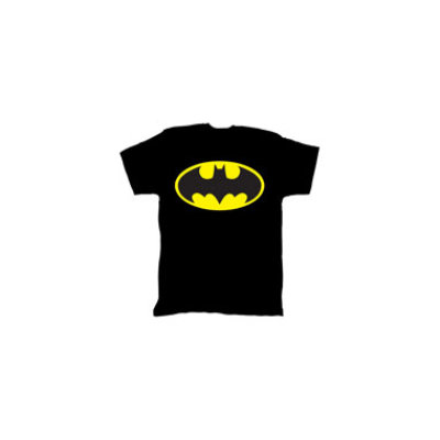 Bio World Merchandising Batman Bright Logo Mens Tee - Small