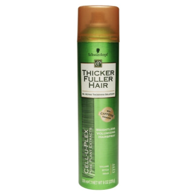 Thicker Fuller Hair Weightless Volumizing Hair Spray, 8 oz