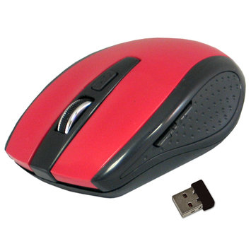 Pc Treasures PC Treasures ClickIt Classic Wireless Mouse - Red (7670)