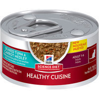 Hill's Science Diet Healthy Cuisine Adult Seared Tuna and Carrot Medley Canned Cat Food