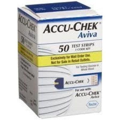 Accu-Chek Aviva Test Strips- Box of 50