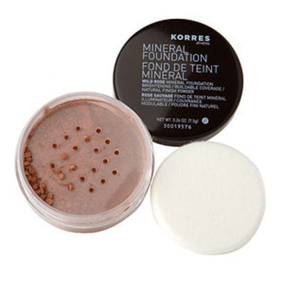 Korres Wild Rose Mineral Foundation Amber 0.26 oz