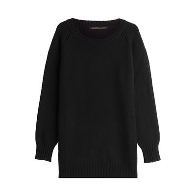 Agnona Cashmere Pullover - black