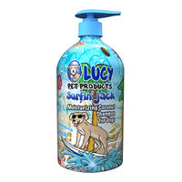 Lucy Pet Products Surfin Jack Coconut Dog Shampoo, 17 oz.