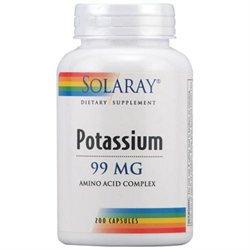 Solaray Potassium 99 MG - 200 Capsules - Other Minerals