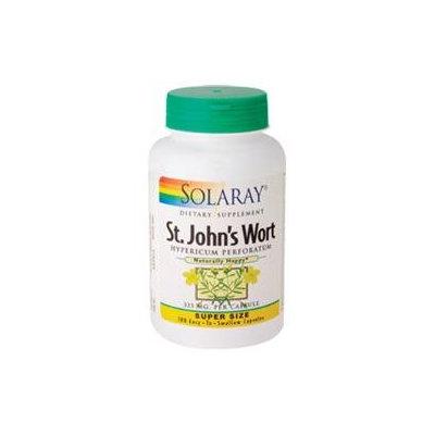 Solaray St. John's Wort - 325 mg - 180 Capsules