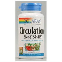 Solaray Circulation Blend SP-11B - 100 Capsules