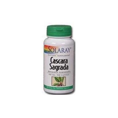 Solaray Cascara Sagrada - 180 Capsules - Other Herbs