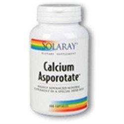 Solaray Calcium Asporotate - 100 Capsules