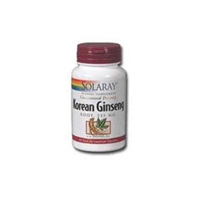 Solaray Korean Ginseng Root - 535 mg - 60 Capsules