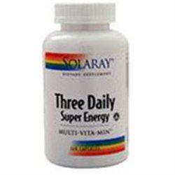 Solaray - Three Daily Super Energy - 120 capsules [Health and Beauty]