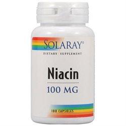 Solaray Niacin - 100 mg - 100 Capsules