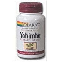 Solaray Yohimbe Extract - 135 mg - 60 Capsules