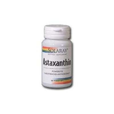 Solaray Astaxanthin 1 MG - 60 Pearle Capsules - Other Supplements