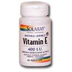 Solaray Vitamin E - 400 IU - 200 Softgels