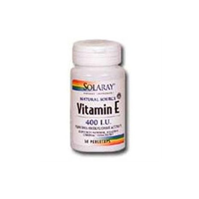 Solaray Vitamin E - 400 IU - 200 Softgels