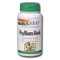 Solaray Psyllium Husk 525 MG - 100 Capsules - Psyllium