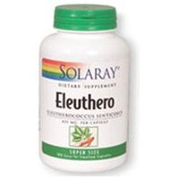 Solaray Eleuthero Siberian Ginseng 425 MG - 180 Capsules - Other Herbs