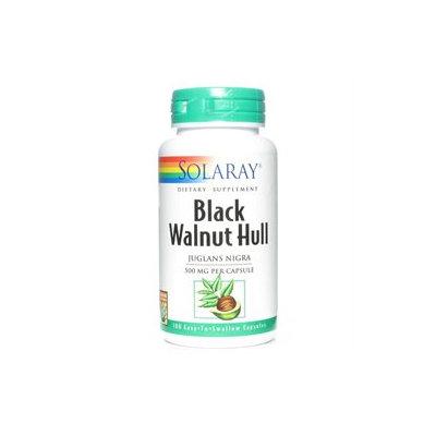 Solaray Black Walnut Hull - 500 mg - 100 Capsules