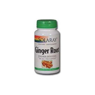 Solaray Ginger Root - 550 mg - 180 Capsules