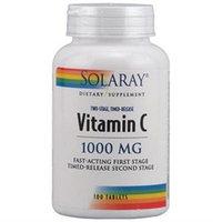 Solaray Vitamin C - 1000 mg - 100 Tablets