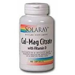 Solaray Cal-mag Citrate 2:1 + Vitamin D