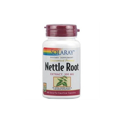 Solaray Nettle Root Extract - 300 mg - 60 Capsules