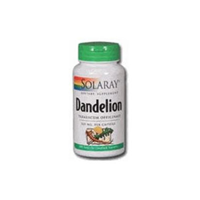 Solaray Dandelion Root - 180 Capsules - Other Herbs