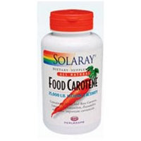 Solaray Food Carotene - 25000 IU - 200 Softgels