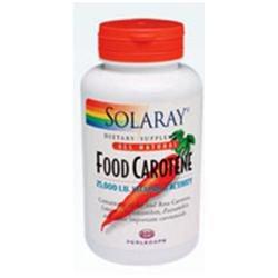 Solaray Food Carotene - 25000 IU - 200 Softgels