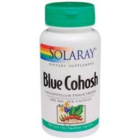 Solaray Blue Cohosh Root - 500 mg - 100 Capsules