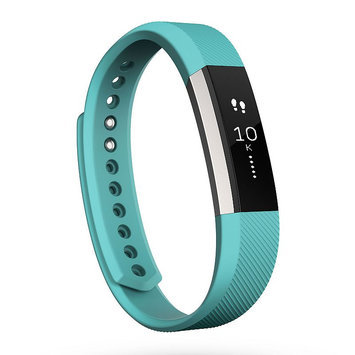 Fitbit 'Alta' Wireless Fitness Tracker, Size Large - Blue/green