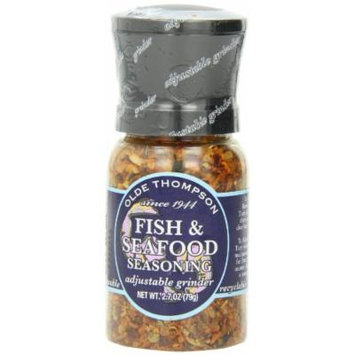 Olde Thompson Fish & Seafood Seasoning, 2.7-Ounce Grinders (Pack of 2)