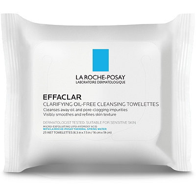 LA ROCHE-POSAY Effaclar Clarifying Oil-Free Cleansing Towelettes Effaclear