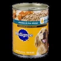 Pedigree Chicken & Rice Traditional Ground Dinner Dog Food