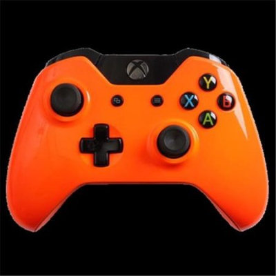Evil Controllers X1mGOCxMM Glossy Orange Master Mod Xbox One Modded Controller