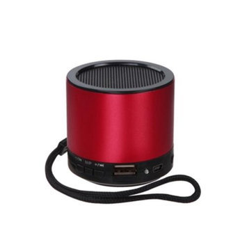 Insten INSTEN Red Mini Portable Stereo Music Speaker For iPod Laptop Tablet iPhone PC MP3 Cellphone