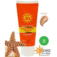 Sweetsation Therapy Sun Si'belle Broad Spectrum Mineral Moisturizing Sunscreen SPF 30, tinted, with antioxidants, 3.3oz BB / CC cream. NEW formula 2014