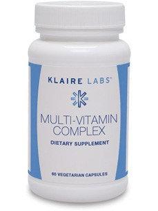 Klaire Labs, Multi-Vitamin Complex 60 Vegetarian Capsules