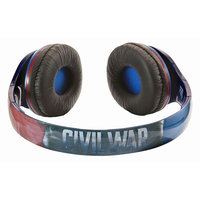 Marvel Captain America: Civil War Over-the-Ear Headphones by iHome, Multi/None