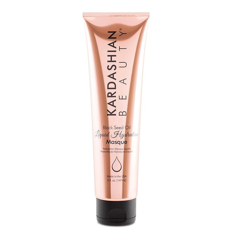 Kardashian Beauty Black Seed Oil Liquid Hydration Hair Masque, Red