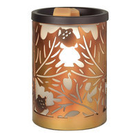 SONOMA Goods for Life™ Leaves Metal Wax Melt Warmer, Multi/None