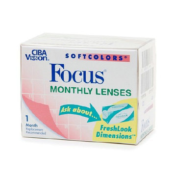 Focus Monthly Softcolors Contact Lenses 1 Box