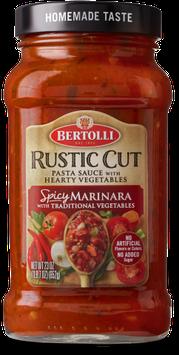 Bertolli® Rustic Cut™ Spicy Marinara with Traditional Vegetables Sauce