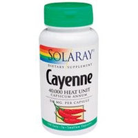 Solaray Cayenne - 515 mg - 100 Capsules