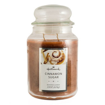 Hallmark Cinnamon Sugar 22-oz. Jar Candle, Brown