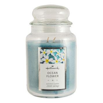 Hallmark Ocean Flower 22-oz. Jar Candle, Blue